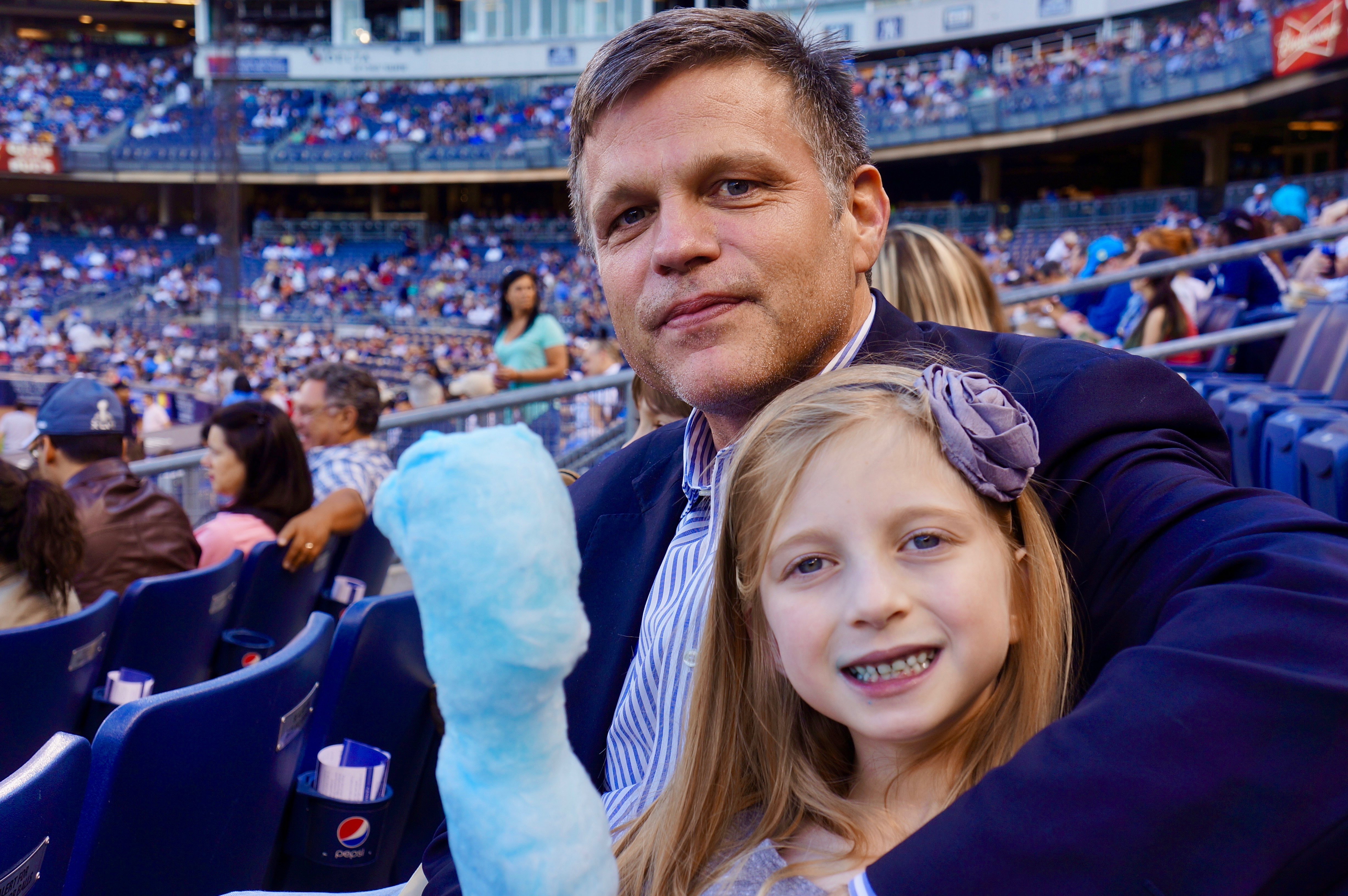 2013 Douglas Brinkley and daughter Cassady